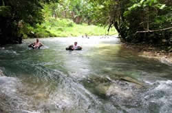 Chukka Caribbean Adventure's Jungle River Tubing