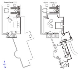 Floor Plan Guest Suite 1