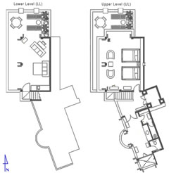 Floor Plan Guest Suite 2