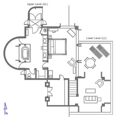 Floor Plan Guest Suite 4